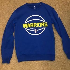 Warriors Crewneck sweater.